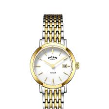 Rotary Rotary Windsor White Dial Two Tone Bracelet Ladies Watch