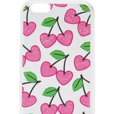 Skinny Dip Cherry Heart iPhone case