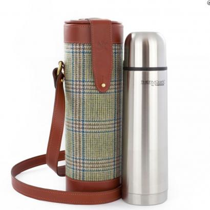 Prince of Wales Thermos Flask and Carry Case